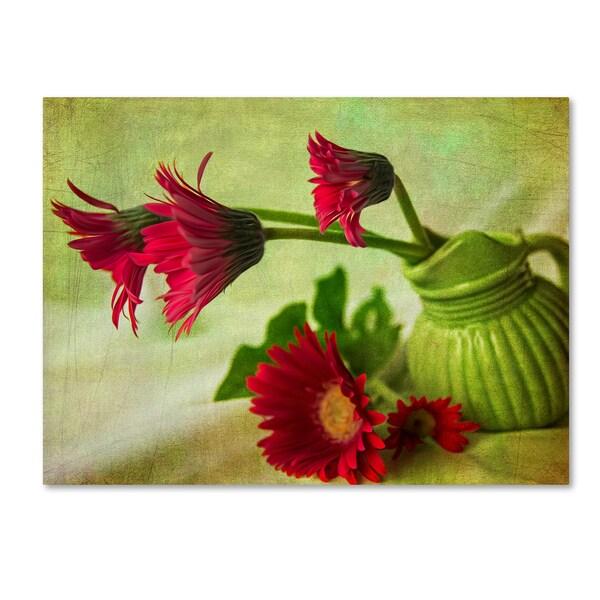 Bob Rouse 'Green Vase' Canvas Art 30070041