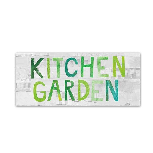 Melissa Averinos 'Kitchen Garden Sign I' Canvas Art