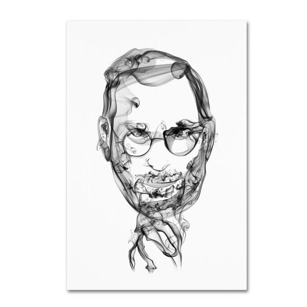 Octavian Mielu 'Steve Jobs' Canvas Art