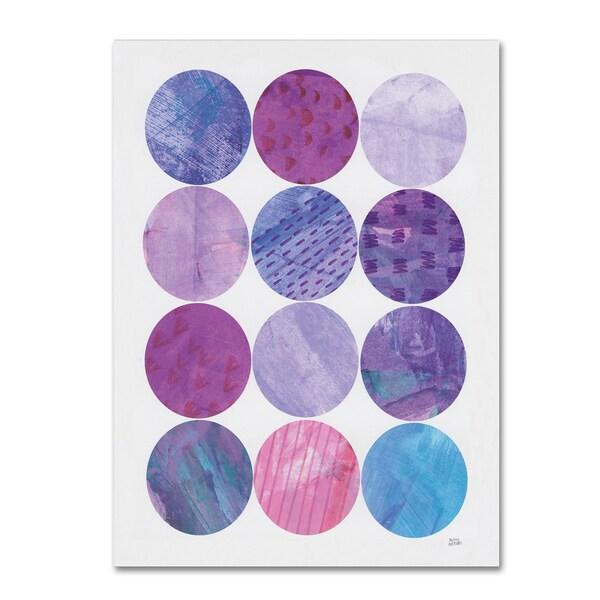 Melissa Averinos 'Kitchen Garden Dots II' Canvas Art