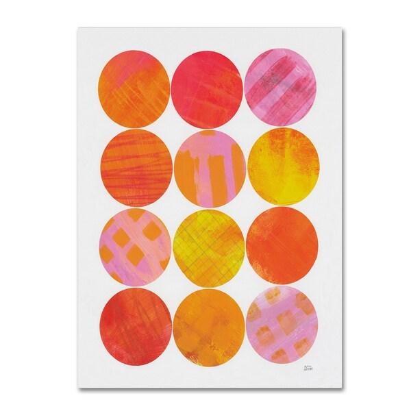 Melissa Averinos 'Kitchen Garden Dots I' Canvas Art