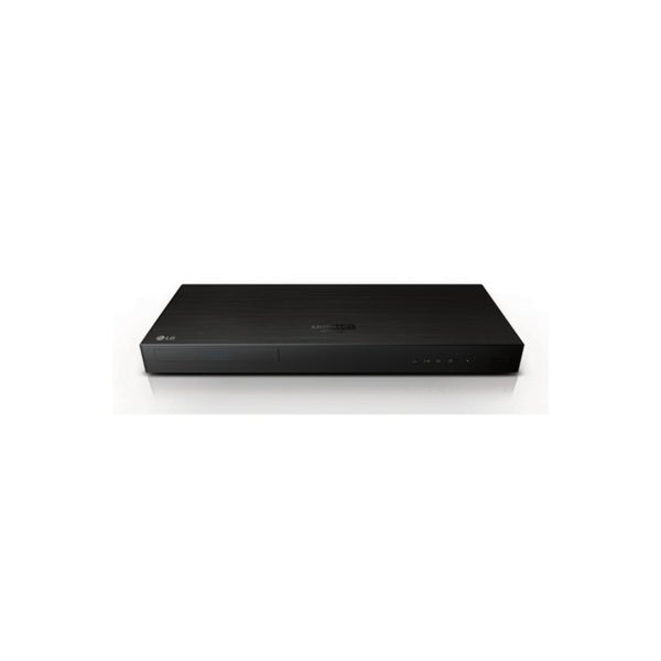 LG - UP970 - 4K Ultra HD 3D Wi-Fi Built-In Blu-Ray Player - Black UP970