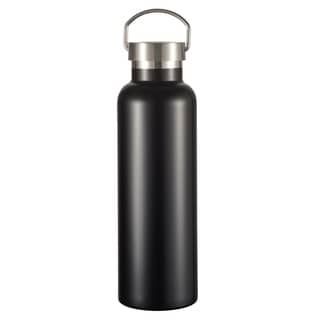 Visol James Matte Black Insulated Water Bottle- 24 Ounce