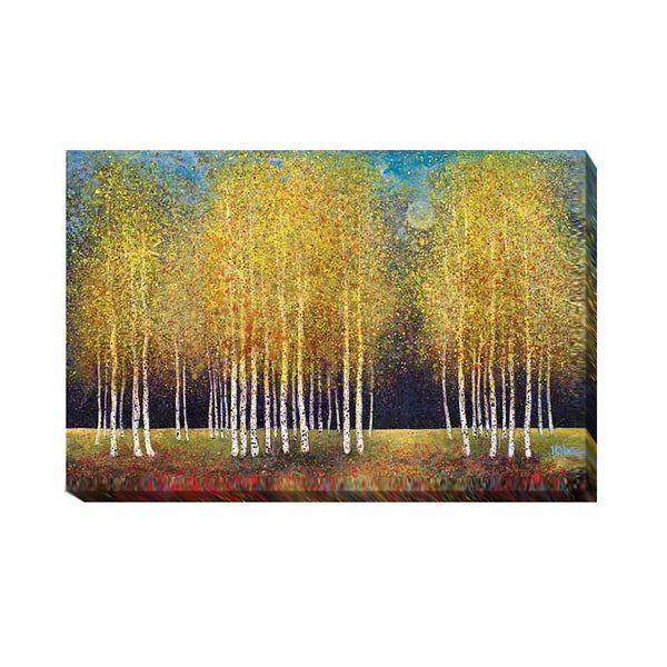 Golden Grove by Melissa Graves-Brown Gallery-Wrapped Canvas Giclee Art 30102623