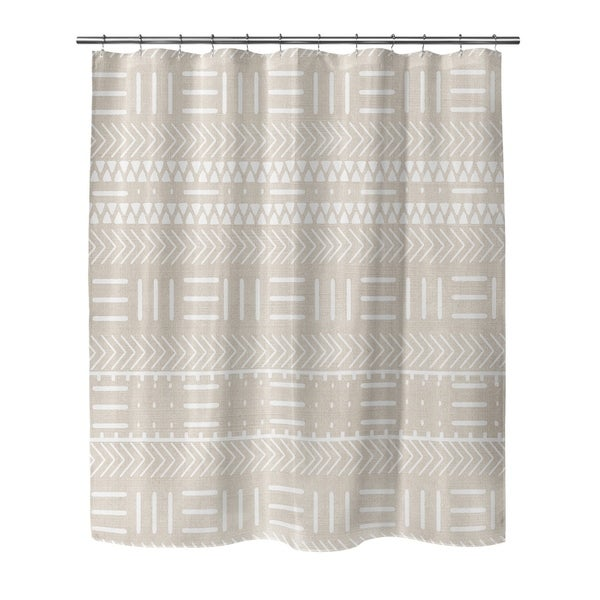 Kavka Designs Hadley  Cream Shower Curtain 30107704