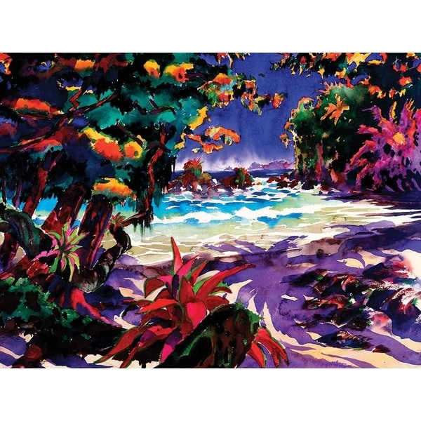 """M.Antonio Beach"" by Jim Gerard Holehouse, Canvas Giclee Wall Art 30113790"