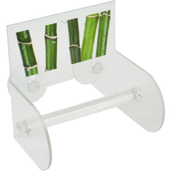 Evideco Toilet Paper Roll Holder w/Suction Cups Ecobio 30129251