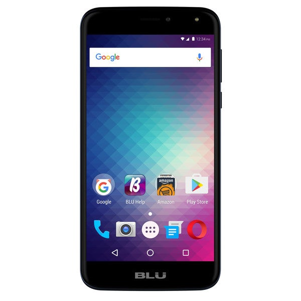 BLU Life Max L0110UU 16GB Unlocked GSM 4G LTE Quad-Core Phone w/ 8MP Camera - Blue (Certified Refurbished) 30134186