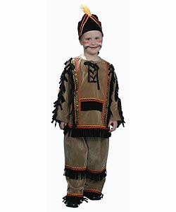 Deluxe Children's Indian Boy Dress Up Set (Size 2-18)