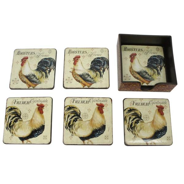 Rooster Coaster (Set of 6) 30151944