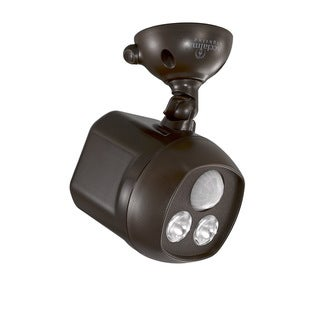 Acclaim Lighting Motion Activated Mega Bright LED Battery Spotlight, Bronze
