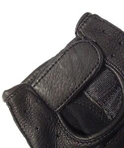 Daxx Top Grain Deerskin Fingerless Gloves