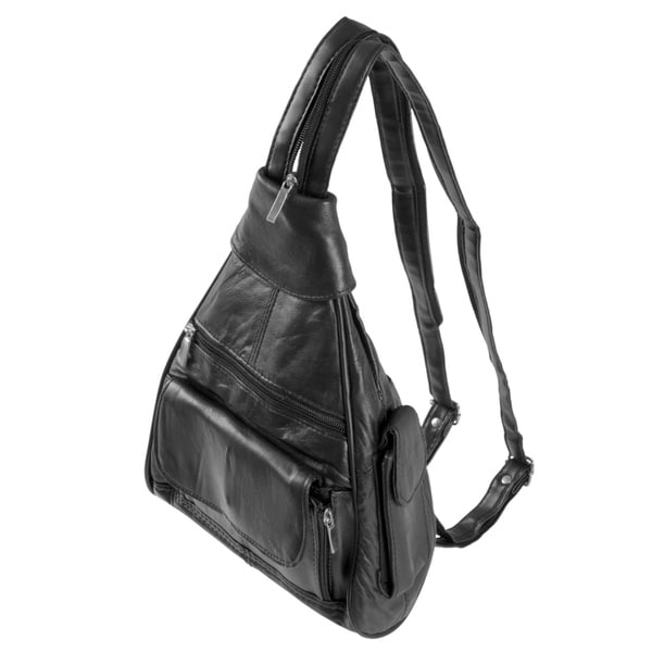 Adi Designs Fashion Sense Leather Backpack