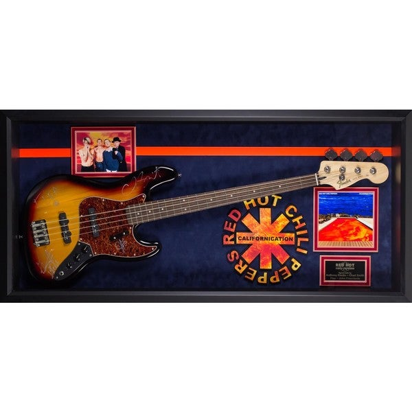 Red Hot Chili Peppers Signed Guitar Californication Custom Framed 30185381