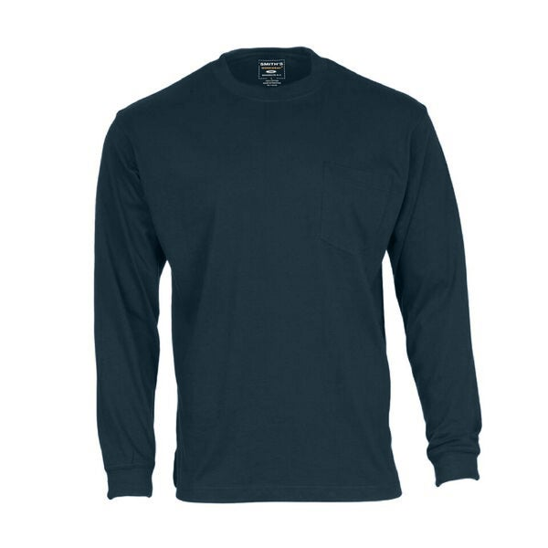 Smith's Workwear Men's Long Sleeve Long Tail Pocket Tee 30189553