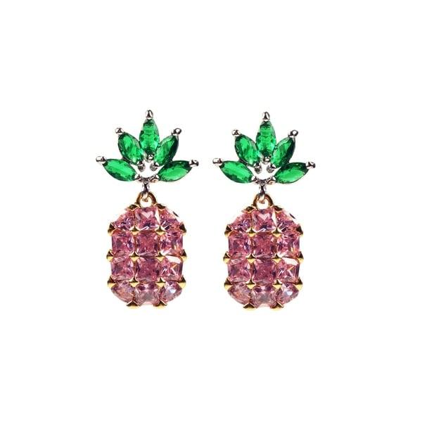 Eye Candy LA Pineapple Statement Fashion Earring 30190572