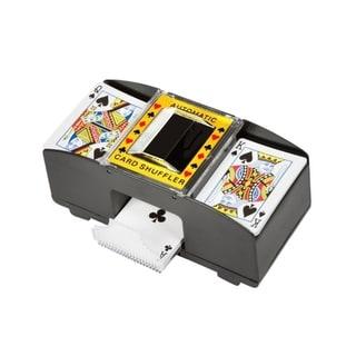 Card Deck Automatic Shuffler By Trademark Innovations - Black 30197684