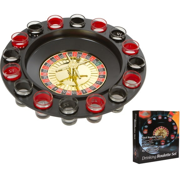 16pc Shot Roulette Game Set - Shot Spinning Drinking Game By EZ Drinker 30197857
