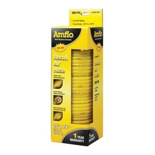 Amflo  Recoil Air Hose  1/4 in.  x 25 ft. L 200 psi 30199103