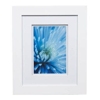 Gallery 8X10 Wide White Double Mat to 5x7 Picture Frame