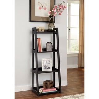 ClosetMaid No-Tool Assembly Narrow 4-Tier Ladder Shelf