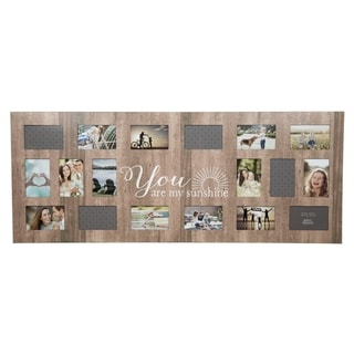 """18 Opening """"Sunshine"""" Collage Wall Frame"""
