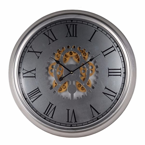 Classic Wall Clock, Dark Grey 30256316