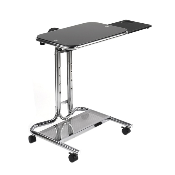 Offex Laptop Cart With Mouse Chrome 30260931