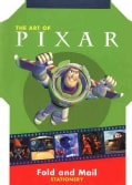 Art of Pixar Animation Studio: Fold And Mail Stationery (Paperback)