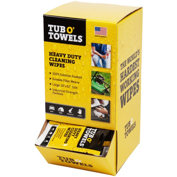 "Tub O' Towels Gravity Feed Box 10""X12"" 100/Pkg 30292319"