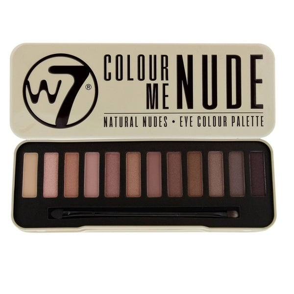 W7 Colour Me Buff Natural Nudes Eye Colour Palette Tin 30311971