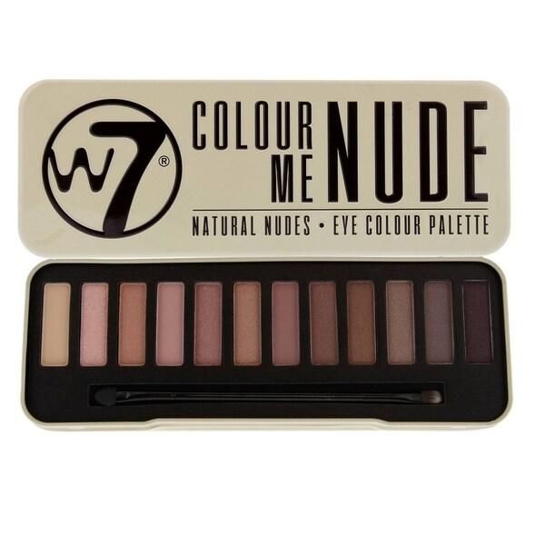 W7 Colour Me Buff Natural Nudes Eye Colour Palette Tin 30311970