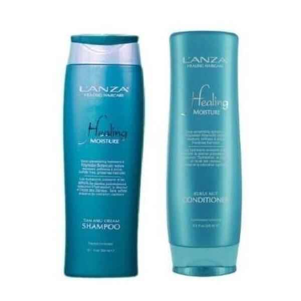 L'ANZA Moisture Tamanu Cream Shampoo & Kukui Nut Conditioner Duo 30357747
