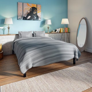 Priage by Zinus Black Platform Bed - Twin