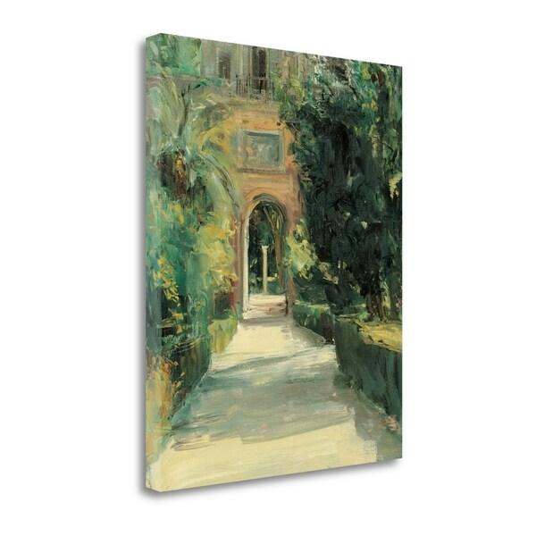 Arco Y Columna By Jose Luis Castrillo,  Gallery Wrap Canvas 30386961
