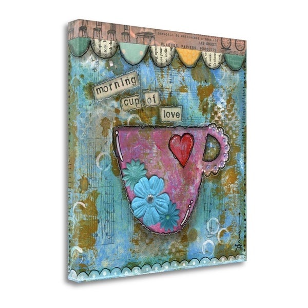 Morning Cup Of Love By Denise Braun,  Gallery Wrap Canvas 30409862