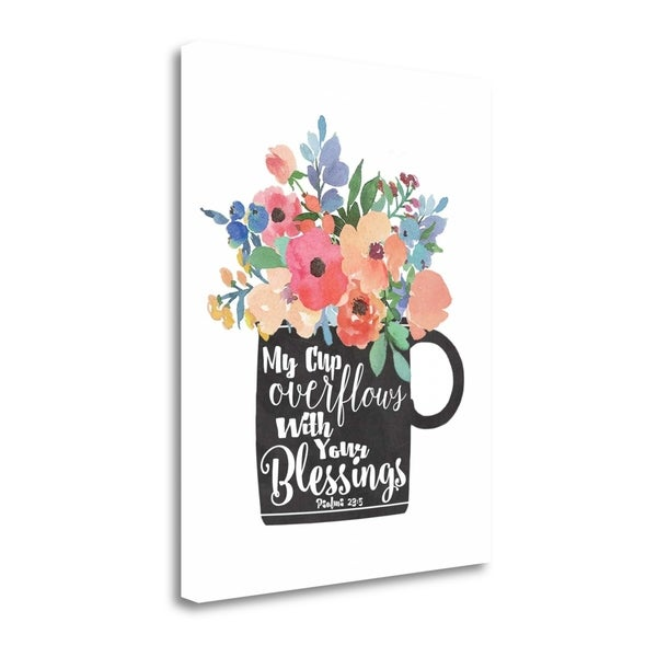 My Cup Overflows By Jo Moulton,  Gallery Wrap Canvas 30413722