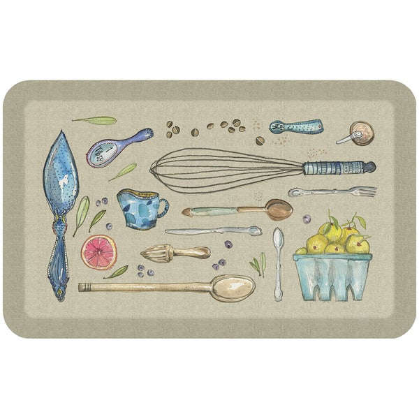 "NewLife Kitchen Tools Comfort Mat (1'8"" x 2'8"") - 1'8 x 2'8 30447990"
