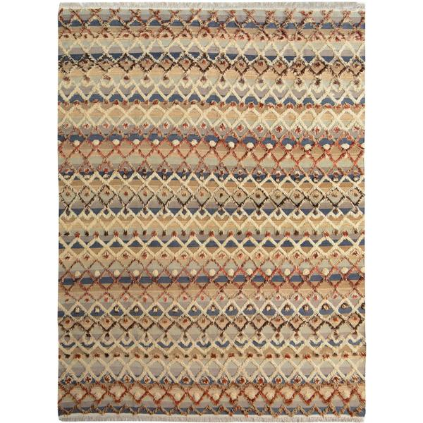 Moroccan Arya Newton Gray/Ivory Wool Rug (8'3 x 10'6) - 8' x 10' 30448635