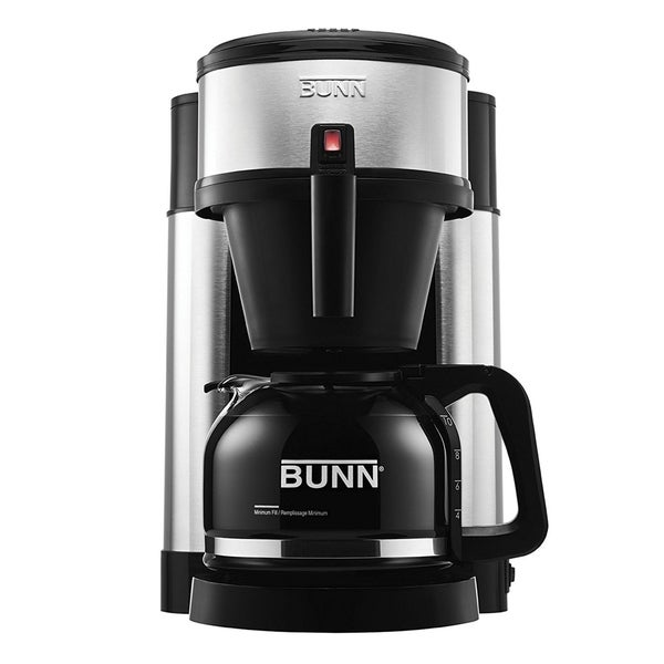 Refurbished Bunn 10 Cup Coffee Maker Black/ Stainless Steel 30448661