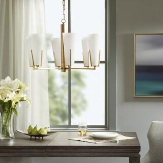 Avignon 6-Light Gold Chandelier by Hampton Hill