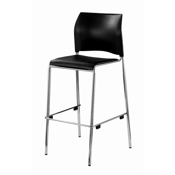 Series Barstools Black Padded Seat