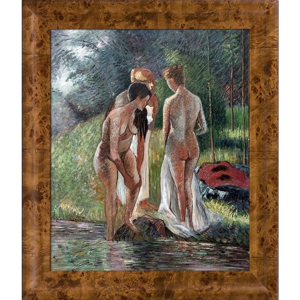 Camille Pissarro 'Nude in the Forest' Hand Painted Oil Reproduction 30458950