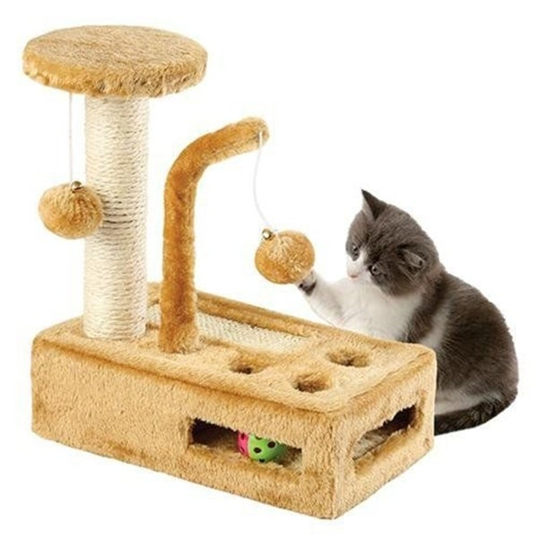 Complete Cat Playground - Cat Scratching Post - Cat Activity Center 30460315