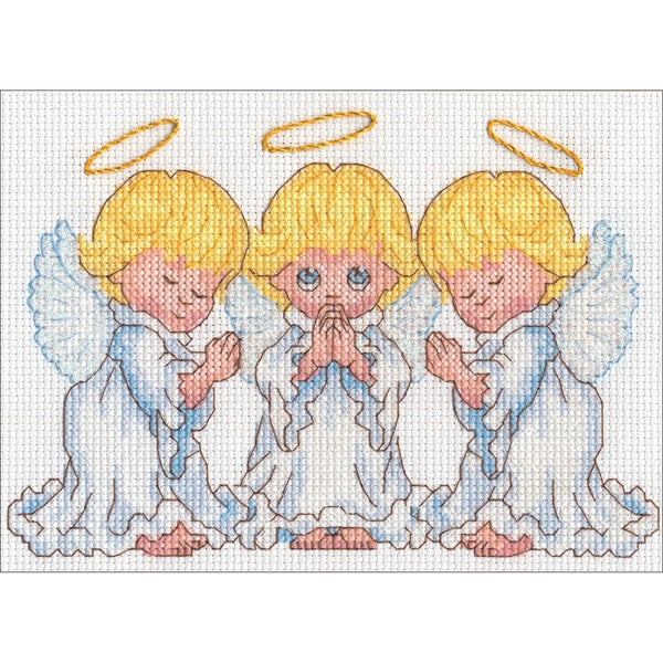 Little Angels Counted Cross Stitch Kit 30490262