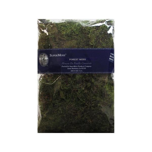 SuperMoss Forest Moss 200cu Pkg Green 30490961