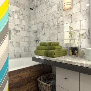 Soft Touch Cotton Bath 3-piece Towel Set