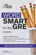 Word Smart for the Gre: A Guide to Perfect Usage (Paperback)