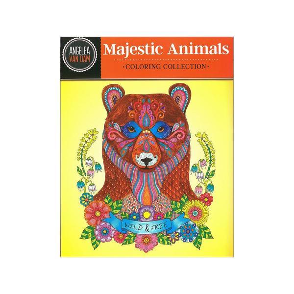 Design Originals Majestic Animals Coloring Book 30518290