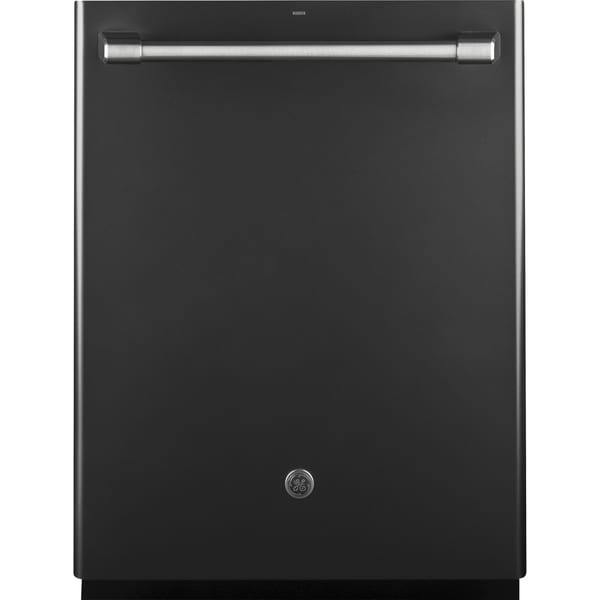 GE Cafe Series Stainless Interior Built-In Dishwasher with Hidden Controls In Black Slate 30522711